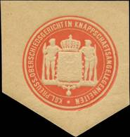 K. Pr. Oberschiedsgericht In Knappschaftsangelegenheiten Siegelmarke - Cinderellas
