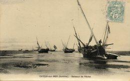 CAYEUX SUR MER........bateaux De Peche - Cayeux Sur Mer