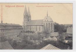 39060597 - Heiligenstadt (Eichsfeld). Liebfrauen-Kirche Gymnasium Gelaufen. Leicht Stockfleckig, Sonst Gut Erhalten - Unclassified