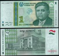TAJIKISTAN - 1 Somoni 1999 UNC P.14 A - Tadzjikistan