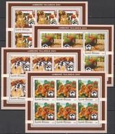 F874 2003 GUINEA-BISSAU FAUNA PETS DOGS SCOUTING BOY SCOUTS !!! 6SET MNH - Chiens