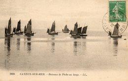 CAYEUX SUR MER.........bateaux De Peche  Au Large  No.2024 - Cayeux Sur Mer