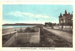 CPA N°24961 - BARNEVILLE-PLAGE - BOULEVARD MARITIME - Barneville
