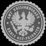 Heiligengrabe: Amt Heiligengrabe Kreis Ost-Prignitz Siegelmarke - Cinderellas