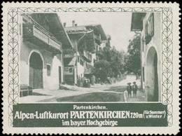 Garmisch-Partenkirchen: Partenkirchen Reklamemarke - Cinderellas