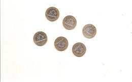 6 Pieces De 10 Francs Genis De La Bastille 1988/89/90/91/92/2000 - France