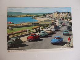 Belles Voitures Anciennes, The Promenade, Exmouth, Devon, Angleterre. - Voitures De Tourisme