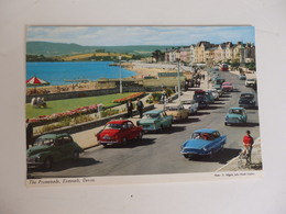 Belles Voitures Anciennes, The Promenade, Exmouth, Devon, Angleterre. - Turismo