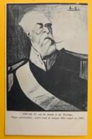 8192 - Politique Caricature  Oscar II Roi De Suède Et De Norvège Par Leal De Carma - Autres Illustrateurs