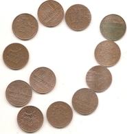 12 Pieces De 10 Francs Mathieu Voir Detail En Dessous - France