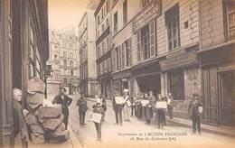 75. N°53868. PARIS 2eme Arr. Imprimerie De L'action Française. 18 Rue Du Croissant - Arrondissement: 02