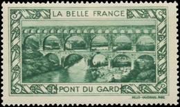 Paris: Pont Du Gard Reklamemarke - Erinofilia