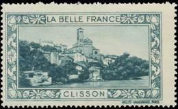 Paris: Clisson Reklamemarke - Erinnofilie