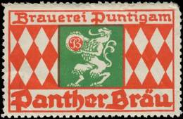 Graz: Panther Bräu Reklamemarke - Cinderellas