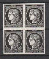 """FRANCE / 2019 / Y&T N° 5305A ** : """"Cérès 1849-2019"""" Du Coffret Prestige X 4 En Bloc - Unused Stamps"""