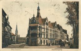 OBERHAUSEN, Stadteingang, Central-Hotel (1922) AK - Oberhausen
