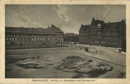 OBERHAUSEN, Partie A.d. Reichsbank Mit Amtsgericht (1925) AK - Oberhausen