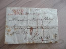 France - LSC Cachet POSTES SENAT CONSERVATEUR 22/12/1807 Département Conquis Naples Italie Taxe Autographe  Deslaudes - 1792-1815: Départements Conquis