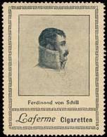Berlin: Ferdinand Von Schill Reklamemarke - Erinnophilie