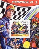 Guine-Bissau  -  Formula 1 - Grand Prix - Sebastian Vettel - Red Bull Racing - 1v MS Neuf/Mint/MNH - Automobile