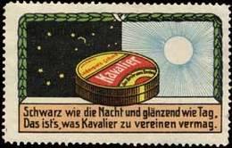 Augsburg: Kavalier Reklamemarke - Cinderellas