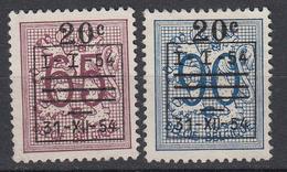 BELGIË - OBP - 1954 - Nr 941/42 - (*) - Bélgica