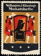 Bielefeld, Berlin, Leipzig: Monatshefte Reklamemarke - Erinnophilie