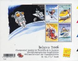 Ref. 159149 * NEW *  - BELGIUM . 2005. BELGICA 2006. WORLD YOUTH PHILATELY CHAMPIONSHIP. BELGICA 2006. CAMPEONATO MUNDIA - Bélgica