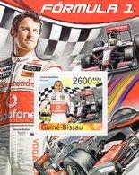 Guine-Bissau  -  Formula 1 - Grand Prix - Lewis Hamilton - Jenson Button - McLaren - 1v MS Neuf/Mint/MNH - Automobilismo