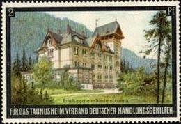 Erholungsheim Niederschlema Reklamemarke - Cinderellas