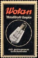 Berlin: Wotan Beleuchtung Reklamemarke - Cinderellas