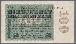 P107d Ro106L DEU-120s  100 Million Mark 1923  UNC NEUF - 100 Millionen Mark