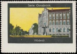 Osnabrück: Hödestraße Reklamemarke - Cinderellas