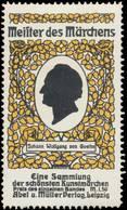 Leipzig: Johann Wolfgang Von Goethe Reklamemarke - Cinderellas