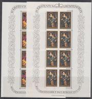 Liechtenstein 1976 P.Paul Rubens 2v Sheetets ** Mnh (LI233) - Neufs