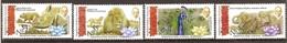 Tonga Niuafo'ou 2016 Yvertn° 404-407*** MNH Cote 35 Euro Faune Flore Gandhi - Tonga (1970-...)
