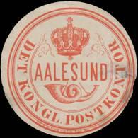 Aalesund: Aalesund Postkontor Siegelmarke - Erinnophilie