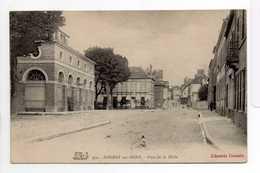 - CPA NOGENT-SUR-SEINE (10) - Place De La Halle - Edition Librairie Doizelet 959 - - Nogent-sur-Seine