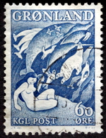 Greenland 1957    MiNr.39  ( Lot B 1080 ) - Groenlandia