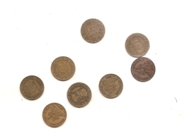 8 Pieces De 50 Centimes Chambre De Ciommerce 1921/22/23/24/25/26/27/28 - France