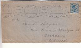 Danemark - Lettre De 1920 - Oblit Aarhus - Exp Vers Koekelberg - 1913-47 (Christian X)