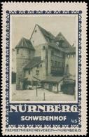 Nürnberg: Schwedenhof Reklamemarke - Cinderellas