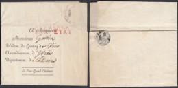 """France - Lettre 1808 De Paris """" Affranchi Par Etat """"  (DD) DC2766 - Sonstige"""