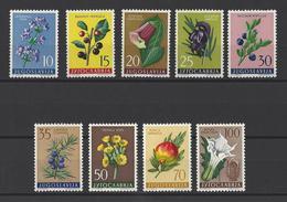 YOUGOSLAVIE.  YT  N° 783/791  Neuf **  1959 - Neufs