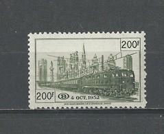 Belgique: CF 334 * - 1952-....