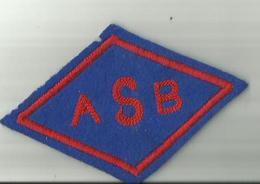 Beziers  Ecusson Tissu   E S B 12  X 8 CM - Rugby