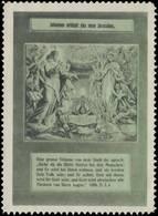 Johannes Erblickt Das Neue Jerusalem Reklamemarke - Erinnophilie