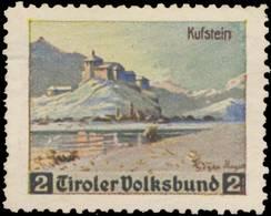 Innsbruck: Kufstein Reklamemarke - Cinderellas