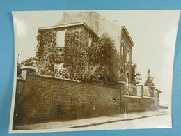 Limelette (Ottignies) 4 Photos De La Maison De Raymont Germiat 2, Rue Lambermont Après Le Bombardement Du 20 Avril 44 - Guerre, Militaire
