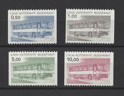 FINLANDE.  YT  Colis Postaux  N° 14/17  Neuf **  1980 - Finland